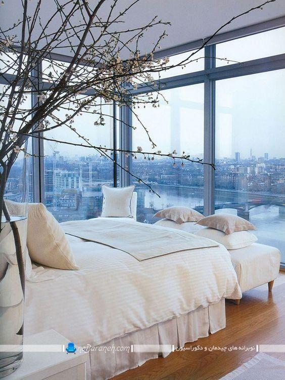 پنجره پانوراما برای مجتمع های مسکونی مرتفع
