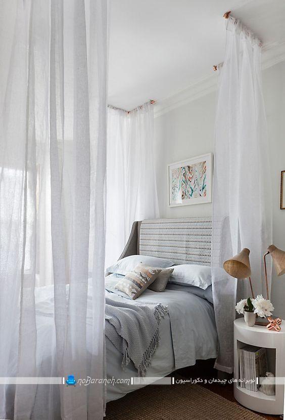 تخت خواب سایبان دار و حجله دار دو نفره