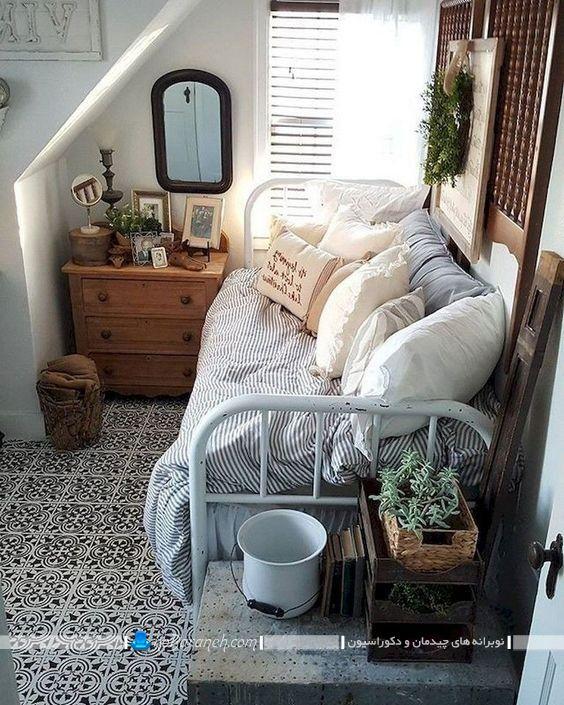 تبدیل تخت خواب تک نفره به کاناپه سه نفره