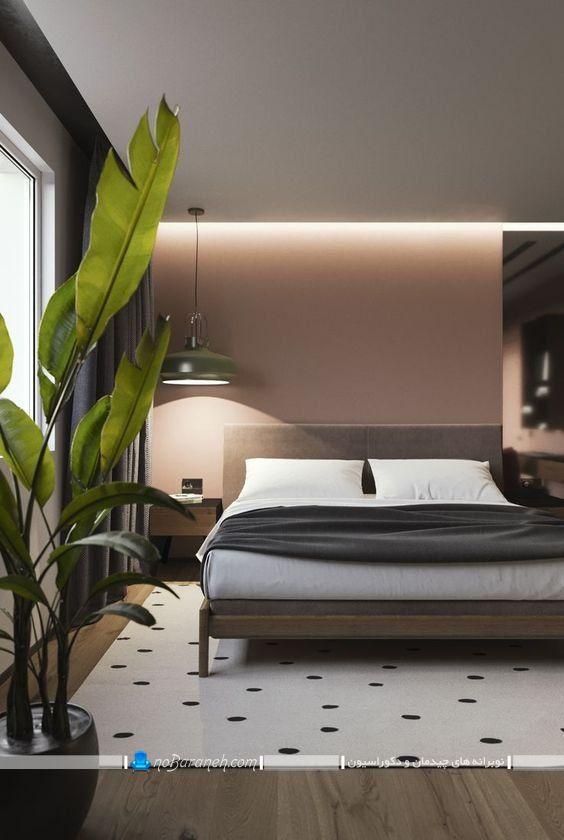 دیزاین و دکوراسیون ترکیبی اتاق خواب ، مدل سرویس خواب شیک اتاق عروس