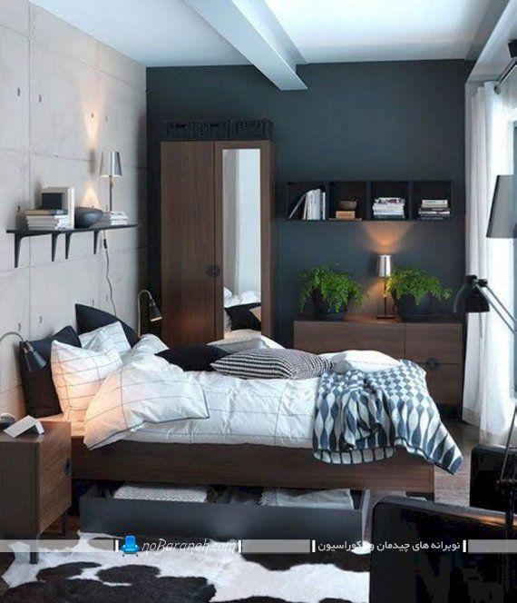 دکوراسیون و دیزاین جوان پسند اتاق خواب آقایان