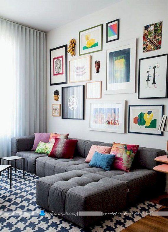 تزیین دیوار منزل با تابلوهای دکوراتیو شیک مدرن قاب دار و بدون قاب با ایده های خلاقانه.
