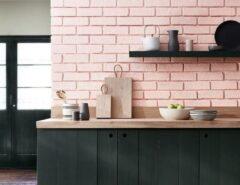 کابینت صورتی آشپزخانه ، دیزاین آشپزخانه با رنگ صورتی