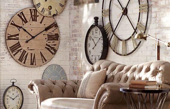 ساعت دیواری مدرن و بزرگ
