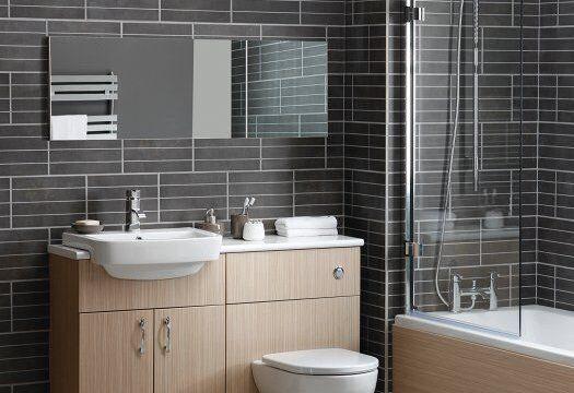 سرویس فرنگی روشویی دستشویی کابینت چوبی mdf