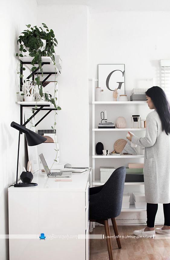 میز تحریر مدرن برای اتاق کار خانگی