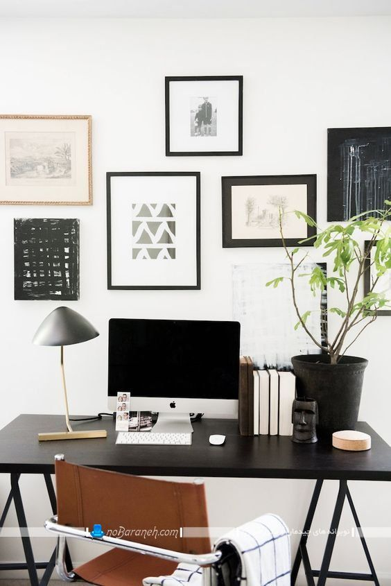 طراحی دکوراسیون اتاق اداری خانگی
