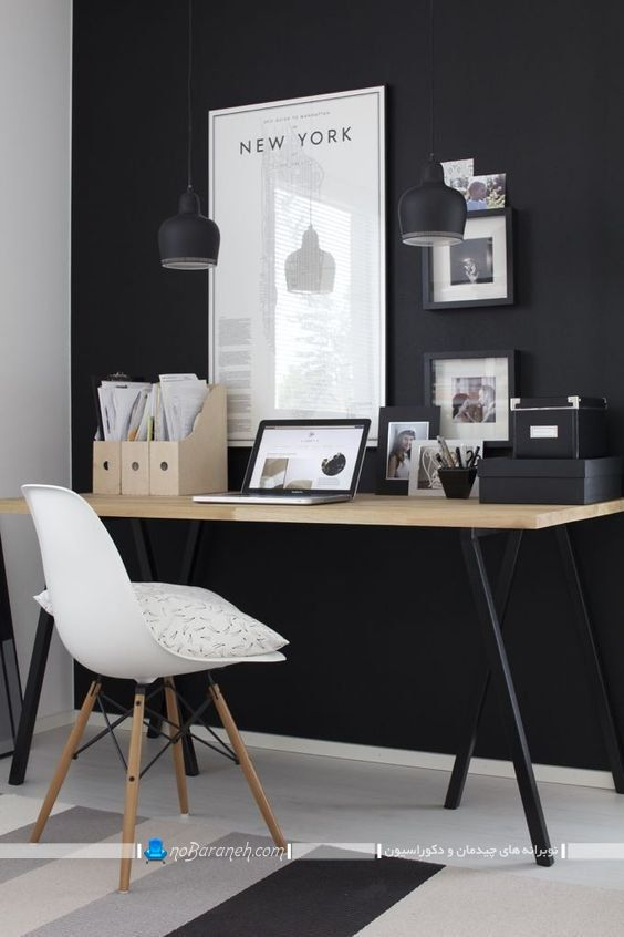 مدل های جدید چیدمان اتاق کار خانگی مدرن و زیبا