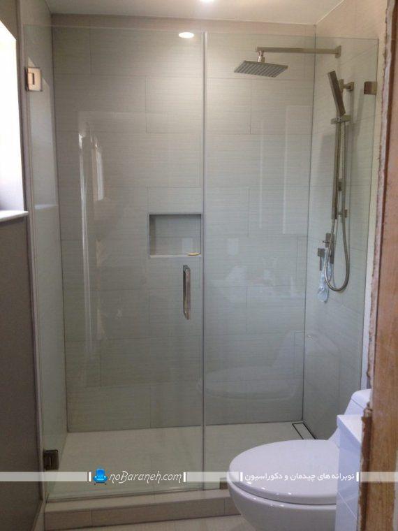 دیوارکشی شیشه ای در حمام برای جدا کردن دوش ، درب شیشه ای برای حمام و دستشویی
