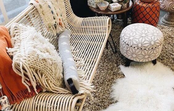 مبلمان مبل چوبی نی خیزران بامبو ، کاناپه و صندلی حصیری
