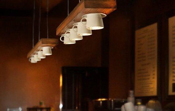 چراغ روشنایی سقفی و آویز برای میز اپن آشپزخانه
