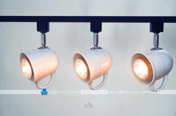 مدلهای جدید چراغ سقفی و لوستر فانتزی برای نورپردازی آشپزخانه
