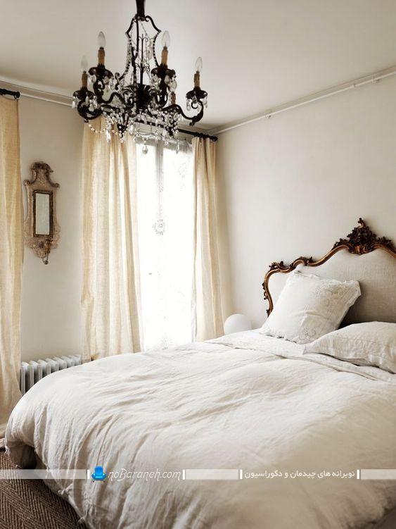 دیزاین اتاق خواب عروس به سبک فرانسوی