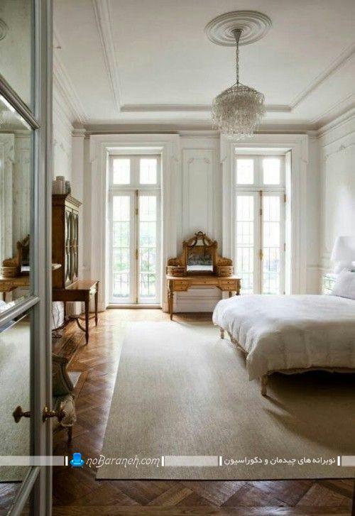دیزاین اتاق خواب عروس به سبک پاریسی