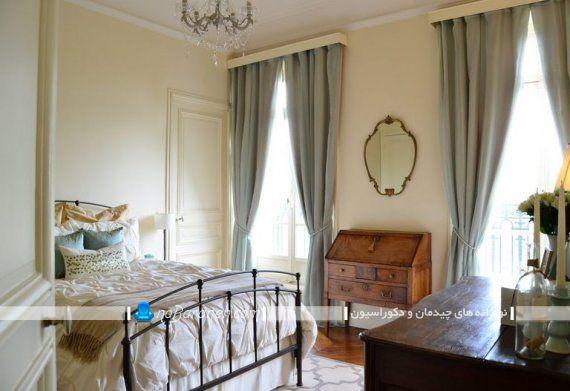 دکوراسیون فرانسوی اتاق خواب