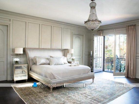 دکوراسیون سلطنتی اتاق خواب به سبک فرانسوی