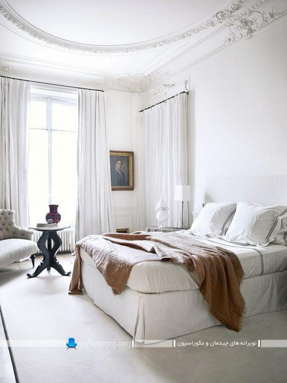 تزیین اتاق خواب به سبک فرانسوی