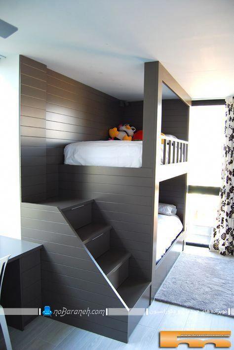 تخت دو طبقه بچه گانه