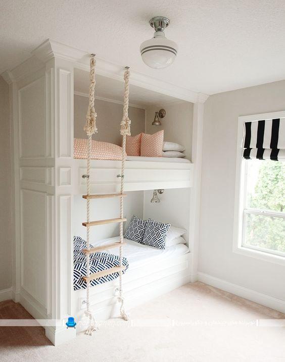 تخت کودک دو طبقه
