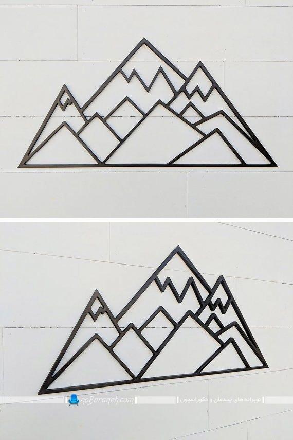 تزیین دیوارهای منزل با تابلو فلزی