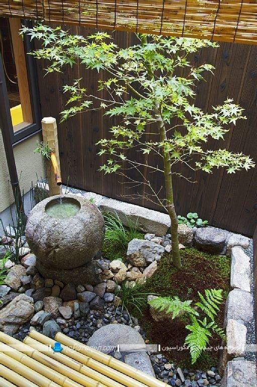 مدل حیاط خلوت کوچک با دکوراسیون شیک و زیبا ، عکس مدل دیزاین شیک و جذاب حیاط خلوت و پاسیو