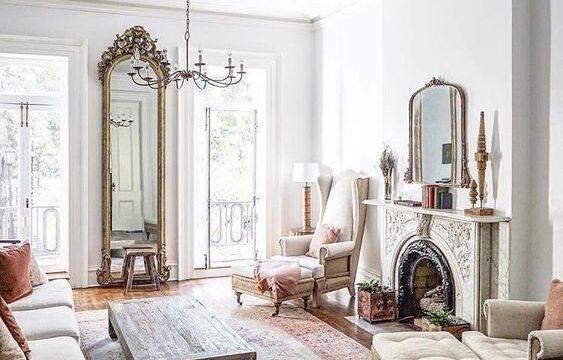 دکوراسیون پاریسی فرانسوی کلاسیک سلطنتی اتاق پذیرایی