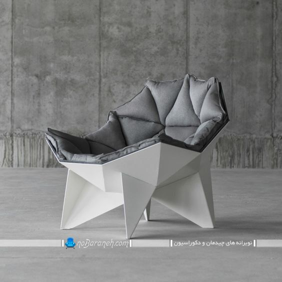 صندلی فانتزی تک نفره با طراحی خاص ، مبل تک نفره فانتزی و شیک و مدرن ، مبل تک نفره با طراحی زیبا و جدید ، مبل راحتی تک نفره مدرن