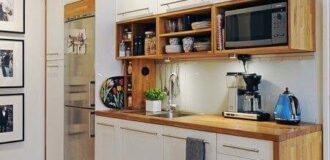 طراحی دکوراسیون آشپزخانه کوچک و نقلی