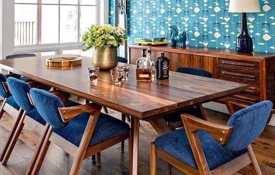 میز ناهارخوری مدرن شیک چوبی