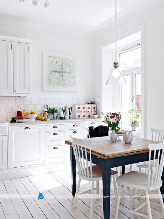دکوراسیون آشپزخانه اسکاندیناوی