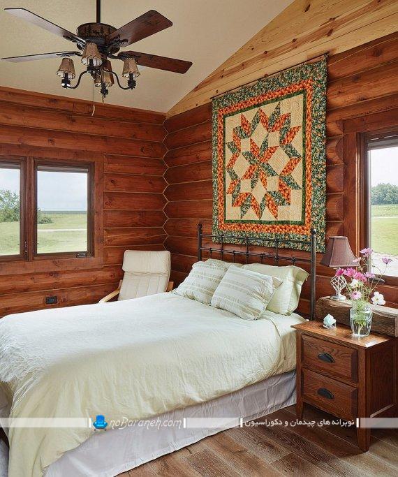 دکوراسیون روستیک اتاق خواب ، سرویس خواب ارزان قیمت برای دکوراسیون روستایی و روستیک، تزیینات ارزان قیمت و سنتی اتاق خواب