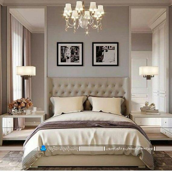 لوستر سلطنتی اتاق خواب