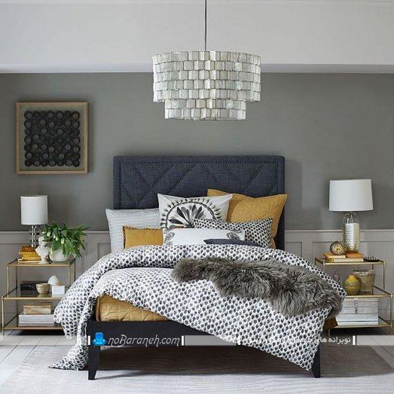 لوستر اتاق خواب فانتزی ، چراغ سقفی اتاق عروس در مدل شیک و مدرن