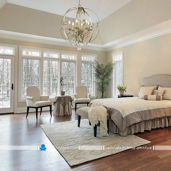 لوستر اتاق خواب سلطنتی