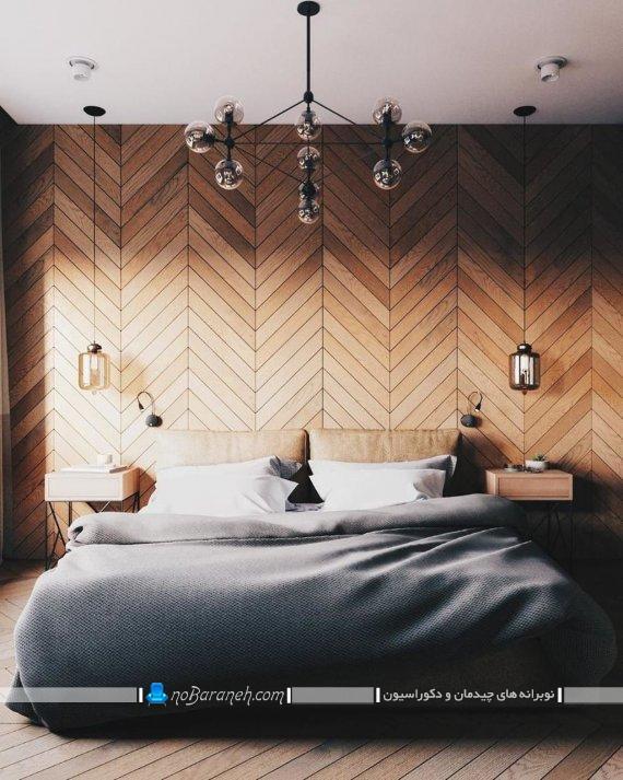 لوستر برای اتاق خواب ، لوستر مدرن و شیک اتاق خواب با طراحی نیمه فانتزی و ظریف