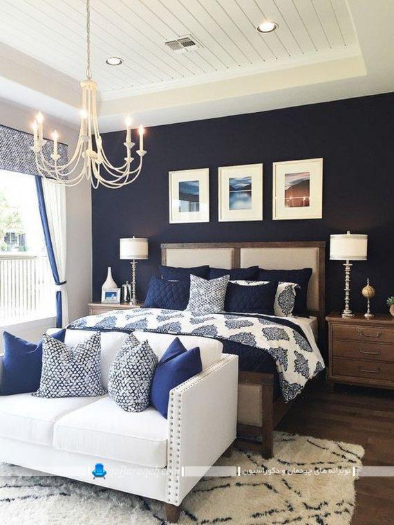 لوستر مناسب اتاق خواب با طراحی جدید و شیک و مدرن برای دکوراسیون زیبا در اتاق خواب