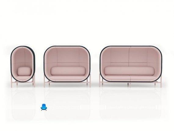مدل مبل راحتی اداری با طراحی جدید شیک مدرن زیبا، مبل خانگی فانتزی و شیک طرح تخم مرغی