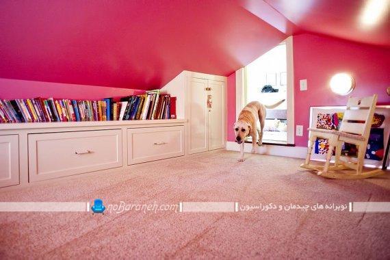 اتاق بازی و مطالعه کودک در منزل