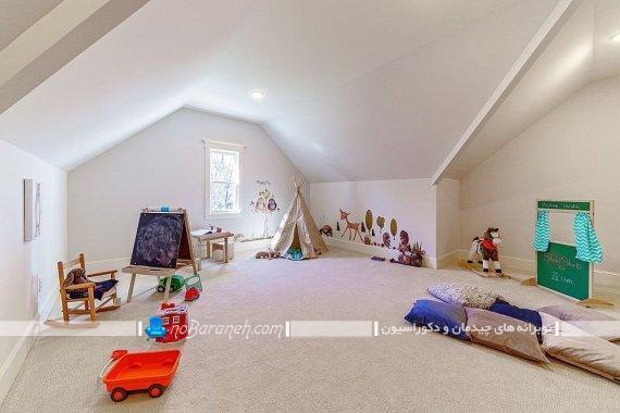 دکوراسیون اتاق بازی کودک در منزل