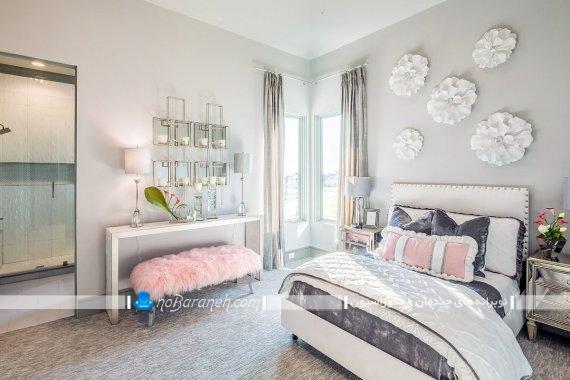 دکوراسیون دخترانه اتاق خواب نوجوانان به سبک کلاسیک و فانتزی. طراحی شیک و مدرن اتاق خواب جوانان