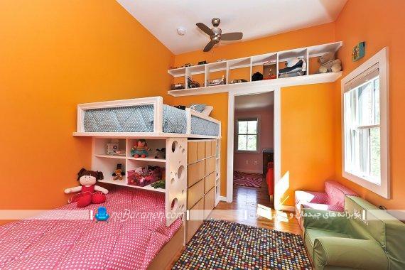 چیدمان و دکوراسیون اتاق نوجوانان به سبک شیک فانتزی مدرن. مدل های جدید طراحی اتاق کودک و نوجوان