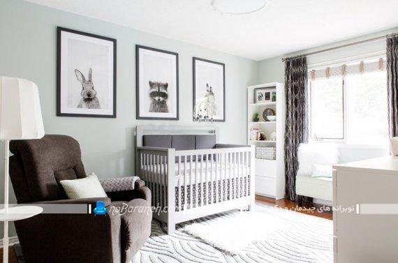 مدل تابلو دیواری برای تزیین اتاق نوزاد. مدل های جدید و مدرن دکوراسیون اتاق کودک نوزاد دختر و پسر.