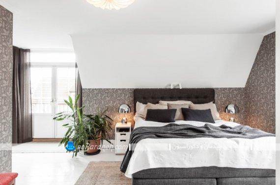 گلدان کوچک آپارتمانی برای تزیین اتاق خواب. ایده های جدید و خلاقانه شیک برای تزیین اتاق عروس با گلدان گل.