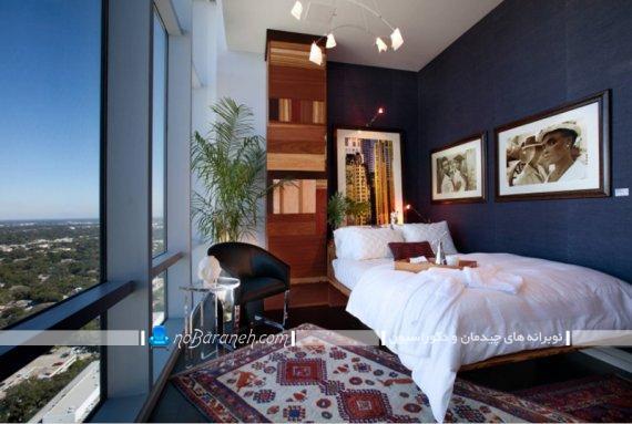 دکوراسیون اتاق خواب با گیاهان آپارتمانی.گیاهان مناسب اتاق خواب عروس و داماد