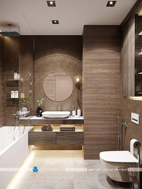 سرویس بهداشتی لاکچری و مدرن شیک فانتزی، جدیدترین و شیک ترین مدل های دکوراسیون حمام و توالت