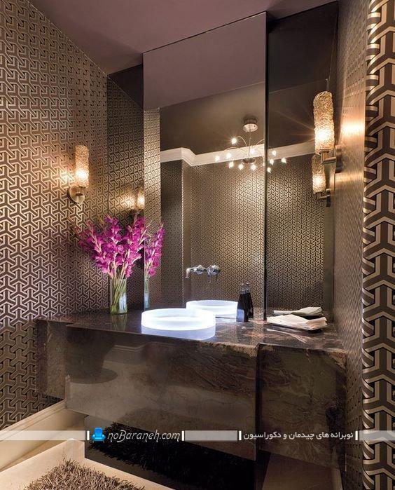 دکوراسیون حمام و روشویی لاکچری و سلطنتی، جدیدترین و شیک ترین مدل دکوراسیون سرویس بهداشتی