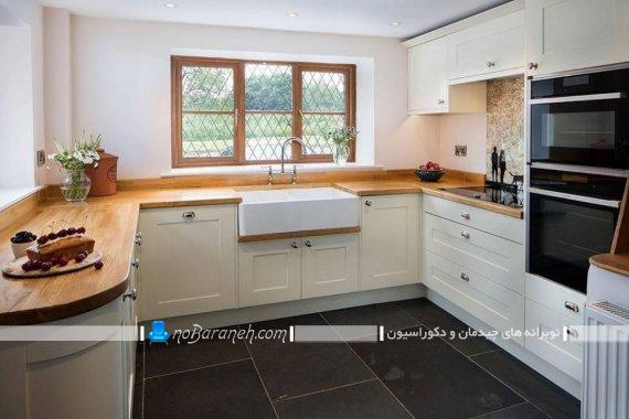 نصب کابینت آشپزخانه به شکل U یو. چیدمان کابینت های چوبی آشپزخانه با ایده های جدید متنوع