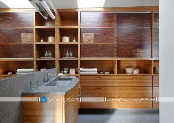 مدل های قفسه بندی حمام و سرویس بهداشتی