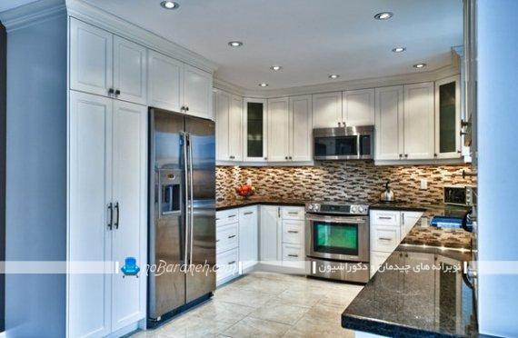 نصب کابینت های چوبی به شکل U یو انگلیسی. مدل های جدید نصب و چیدمان کابینت آشپزخانه