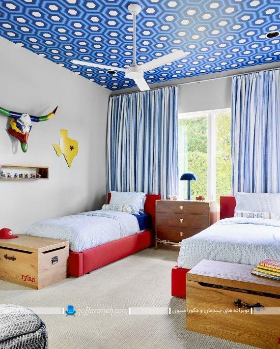 ایده های زیبا برای تزیین سقف اتاق بچه. تزیین ارزان قیمت سقف اتاق کودک